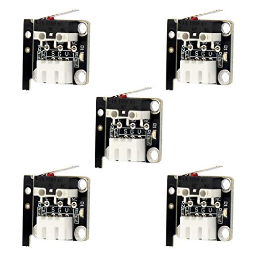 ULTECHNOVO 5pcs Creality Printer Parts X Y Z axis Limit Switch 3D Printer Accessories for 3D Printer