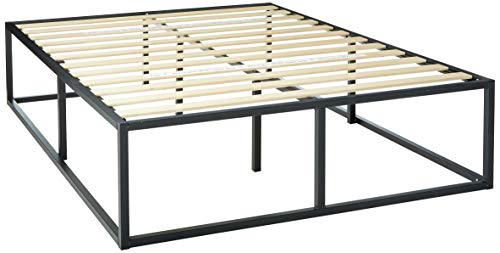Zinus Joseph Metal Platforma Bed Frame, 18-Inches - Queen