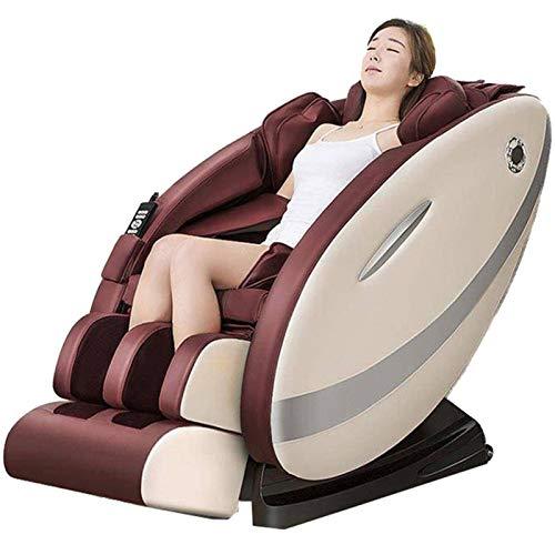 N-B Elektrischer Ganzkörper-Massagestuhl mit Liege, beheizbar, Zero Gravity Massagesessel