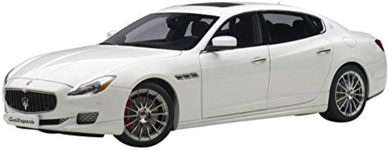 precios mas baratos 2015 Maserati Quattroporte GTS Alpi blanco 1 18 by by by AutoArt 75808 by Maserati  ganancia cero