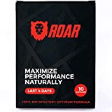 Natural Male Energy Pills, Natural Amplifier for Performance, Energy, and Endurance 10 Capsules