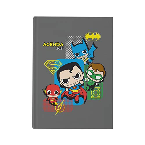 Chibi Universe DC - Planificador anual 2021