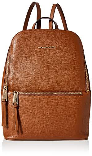Michael Kors Damen Toby Rucksack, Braun (Luggage), 12.7x37.5x31.75 cm