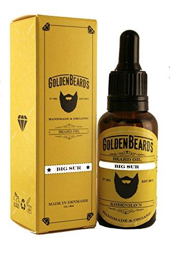 Golden Beards Huile pour Barbe Big Sur 30 Ml