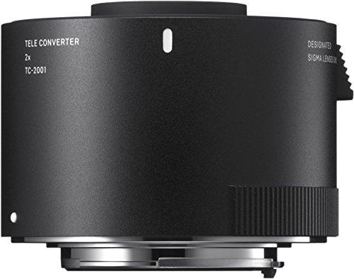 Sigma 2,0-fach Telekonverter TC-2001 für Nikon, Schwarz