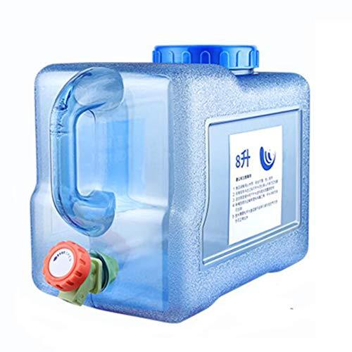 Outdoor Camping Plastik Wasserbehälter,Tragbare Reise Haushalt Auto Aufbewahrungseimer Mit Wasserhahn Notfall-Wasserspeicher ,Trinkwasserspeicher Eimer