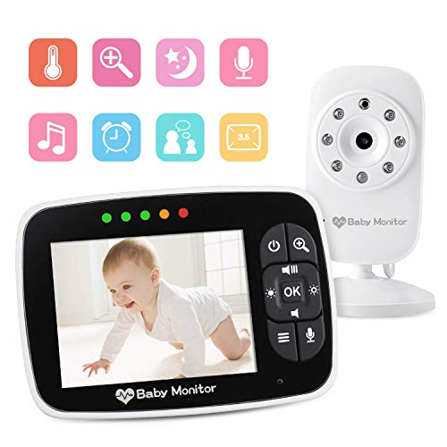 4PCS New Baby Monitor 2.4GHz Color LCD Wireless Audio Night Vision Digital Video