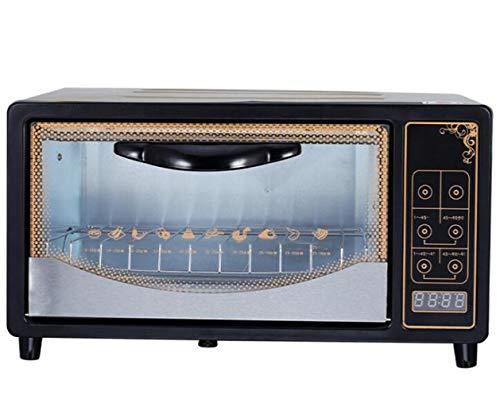 JSHFD Elektro - Mini - Backofen Multi - Kochfunktion Einstellbare Temperaturregelung Timer Tragbarer Backofen