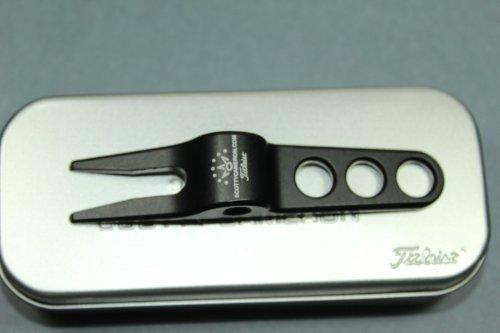 Scotty Cameron TITLEIST Divot Pivot Tool with TIN CAN - Black