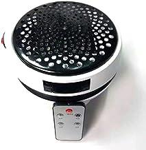 SODIAL 900W Calentador EléCtrico Calentador de Ventilador Hogar de Escritorio Calentador Montado en la Pared Estufa Radiador con Control Remoto con Enchufe EU