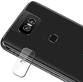 XHC Camera Lens Glass Protector 0.3mm 2.5D Transparent Rear Camera Lens Protector Tempered Glass Film for Asus Zenfone 6 Anti Scratch