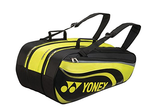 Yonex Racquet Bag (9 PCS) Black/Yellow