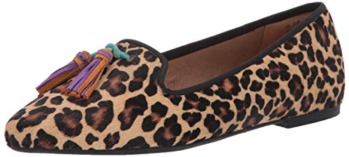 Top 10 best selling list for leopard flat shoes with tassels