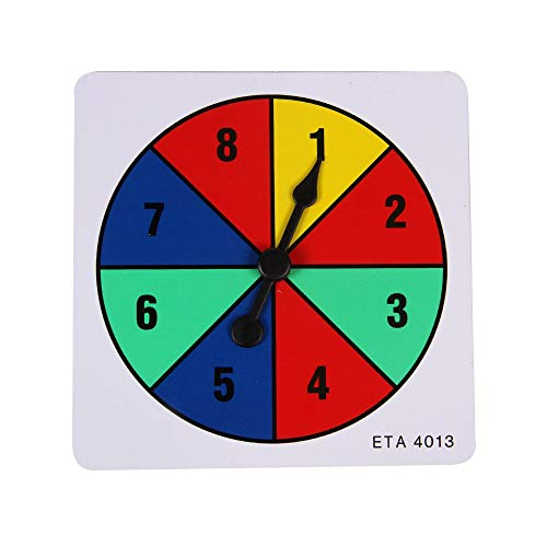 hand2mind Four Color Spinner Pack of 5