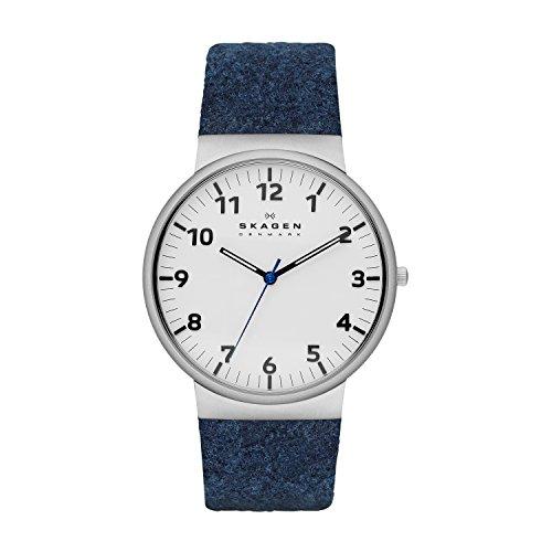 Skagen Herren-Armbanduhr XL Analog Quarz Textil SKW6098