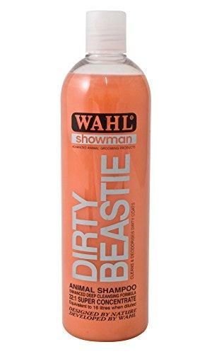 Wahl Unisex's Dirty Beast Natural, Organic Based Shampoo, Orange, 500 ml