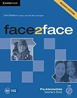 face2face Pre-intermediate Teacher's Book with DVD. 2nd.