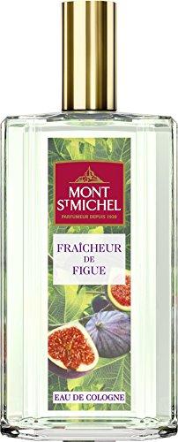 Mont St Michel - Eau de Cologne - Parfum Fraîcheur de Figue - Flacon 75 ml