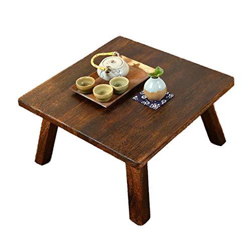 BJH Table Basse Balcon Tatami Petite Table Basse Petite Table carrée Maison Table Basse lit Apprentissage