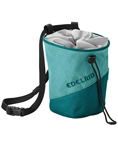 EDELRID Unisex– Erwachsene Chalk Bag Monoblock, Dolphin, einheitlich