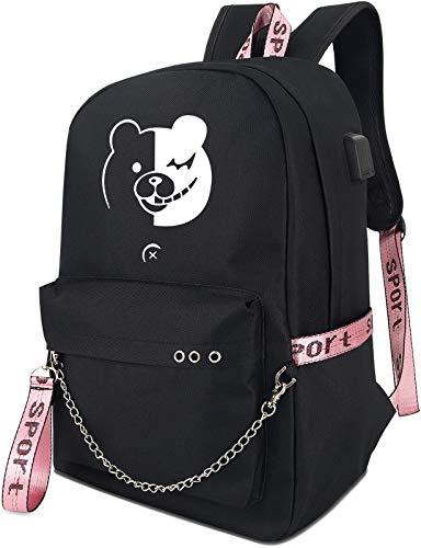 Roffatide Anime Danganronpa Luminous Backpack Book Bag Laptop School Bag...