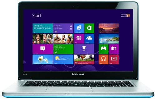 Lenovo Ideapad U410 14-inch Ultrabook - (Intel Core i3 3217U 1.8GHz Processor, 4GB RAM, 500GB HDD + 24 GB SSD, Windows 8) (Saphire Blue)