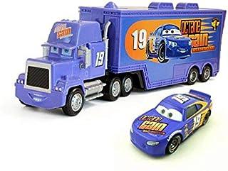 fashionmore Movie Cars Toys #19 Daniel Swervez Mack Hauler Truck & Racer Speed Racers Metal Toy Car 1:55 Loose Kid Toys