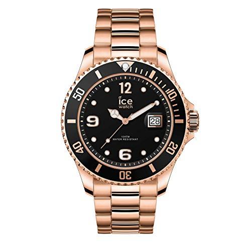 Ice-Watch - ICE steel Rose-gold - Men's (Unisex) wristwatch with metal strap - 016763 (Medium)