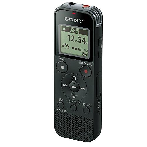 ソニー ICレコーダー 4GB リニアPCM録音対応 ブラック ICD-PX470F B
