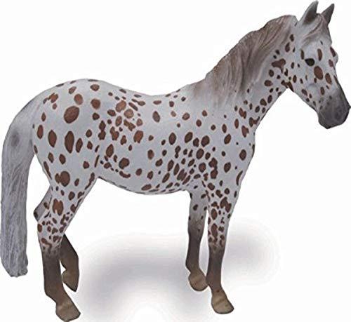 CollectA 88750 - British Spotted Pony Stute kastanienbraun-leopardfarben