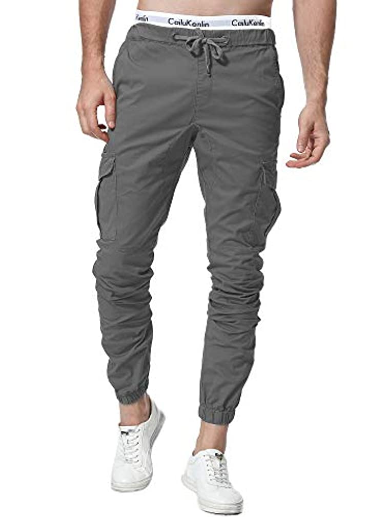 ZOEREA Jogger Cargo Men's Chino Jeans Casual Trouser Outdoor Working Pants