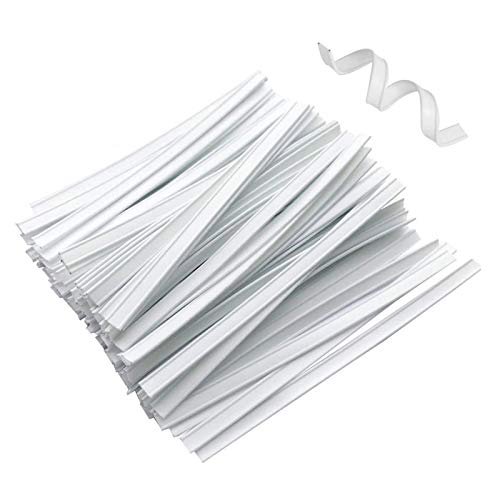 Mask Nose Bridge Strip, Plastic Nose Bridge Strip Wire for DIY Making, 10CM Double Wire Nose Bridge Strips, Flat Nose Wire Clips Plastic Strips for Handmade Crafting(50PCS)