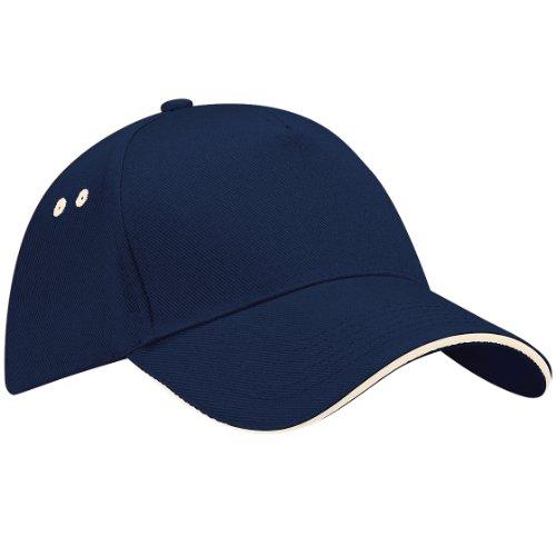 Beechfield Ultimate Unisex Kappe, 100% Baumwolle, UTRW222_13, Blau, UTRW222_13 onesize