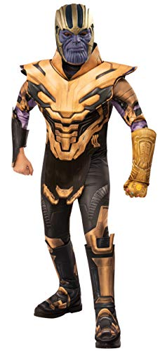 Rubies - Disfraz oficial de Avengers Endgame Thanos, de lujo, para niños de 5 a 7 años, altura de 132 cm