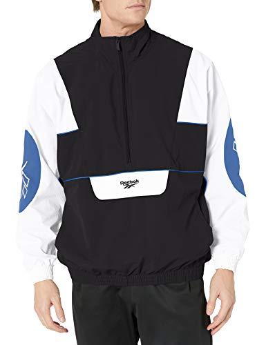 Reebok Clasic Electrogen Anorak Jacket, Black, Medium