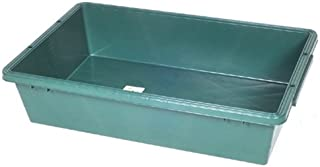 緑長 プラスチック製トロ舟 120L グリーン