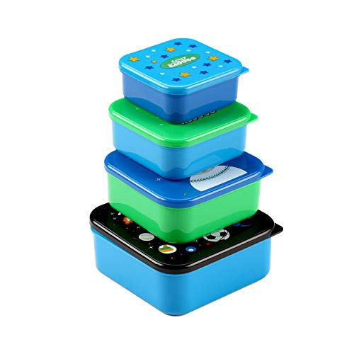 Smily Kiddos | Smily Multi Purpose Container (Blue) | Kids Lunch Box | School Lunch Box | Lunch Box Containers | Lunch Box Set for kids | lunch box and tiffine | Baby Lunch Box For kids | Lunch Box For School | lunch box with spoon