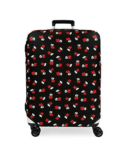Disney Minnie Black Medium Suitcase Cover