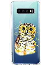 Oihxse Compatible con Samsung Galaxy C7 Pro Funda Suave Gel TPU Silicona Cristal Transparente Carcasa Acuarela Animal Pintado Patrón Protectora Estuche Bumper Caso Case (B6)