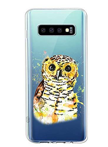Oihxse Compatible con Samsung Galaxy S10 Funda Suave Gel TPU Silicona Cristal Transparente...
