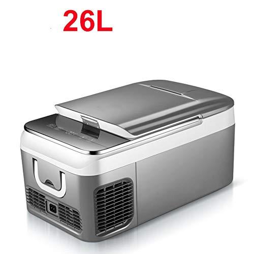 18L / 26L auto koelkast Compressor DC 12V 24V Car Koelkast Diepvries Cooler voor Car huis Picnic Koeling Freezer -20~10 Graden,26l
