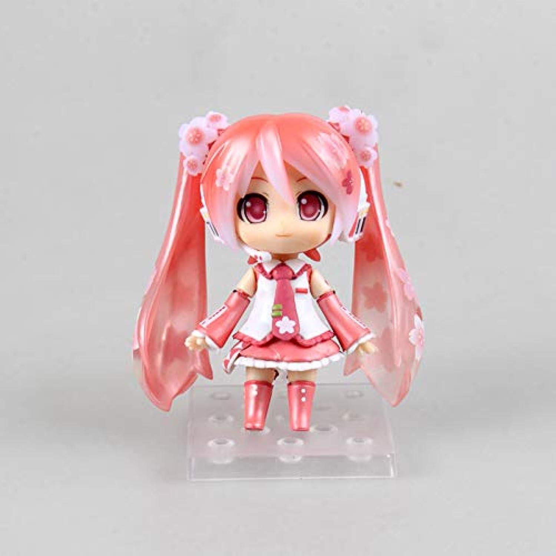 HAPP TRIX Hatsune Miku Figure Hatsune Miku Cute Nendgoldid   500 Sakura Miku Bloom in Janpan Ver. PVC Action Figure Model Doll
