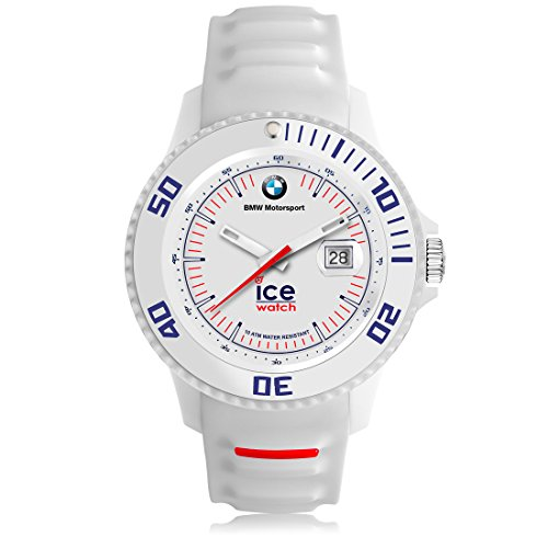 Ice-Watch - BMW Motorsport (sili) White - Men's wristwatch with silicon strap - 000835 (Medium)