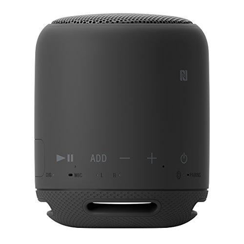 ソニーワイヤレスポータブルスピーカーSRS-XB10:防水/Bluetooth/NFC対応/マイク付き/ブラックSRS-XB10B