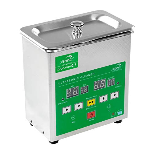 Ulsonix - Machine à laver à ultrasons Proclean 4.0 - Série Memory Quick - 4 litres de capacité - 120 W - Intensité ultrasonique - 40 kHz