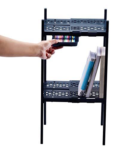 It's Academic Adjustable Double Locker Shelf, Colors May Vary (5001)