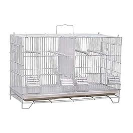 ANJJ Bird cage, villa breeding cage bird cage tiger skin peony