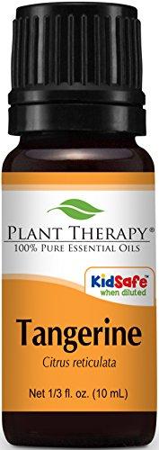 Plant Therapy Tangerine Essential Oil. 100% Pure, Undiluted, Therapeutic Grade. 10 ml (1/3 oz)
