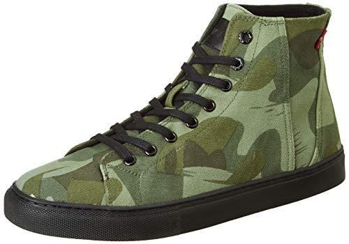 Levi's Men Basel Ankle Shoe Camouflage Sneakers-10 UK (44 EU) (11 US) (38099-1811)