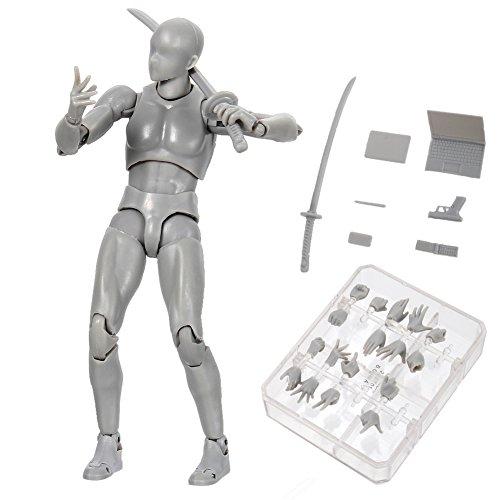 Proglam - Figur-Modellbausätze in Grau